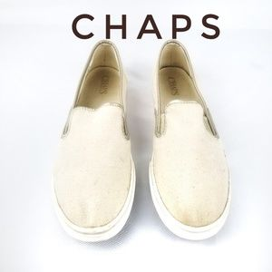 🌹Chaps Jessica Round Toe Canvas Loafer